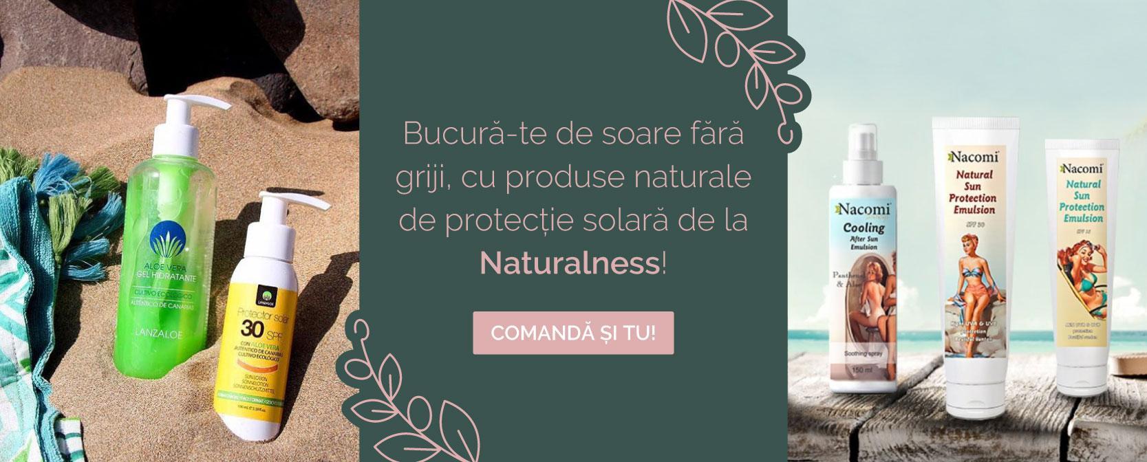 Produse naturale pentru protectie solara