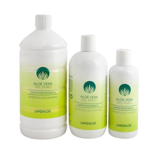 Gel natural 100% Aloe Vera - Lanzaloe