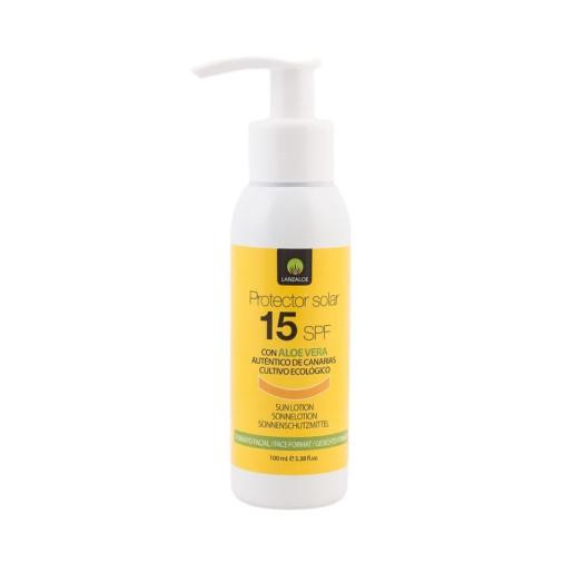 Cremă protecție solară SPF15 Aloe Vera 100 ml