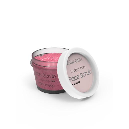 Scrub pentru curățarea feței și a buzelor - pepene verde - Nacomi