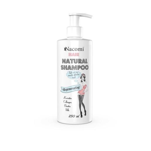 Șampon pentru păr cu efect de regenerare și hrănire - Nacomi