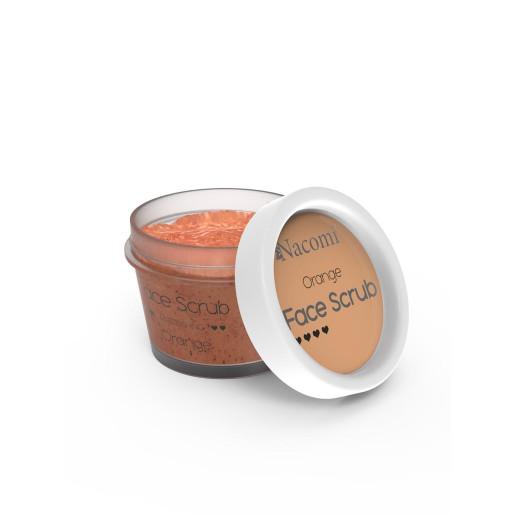 Scrub pentru revigorarea feței și a buzelor - portocale - Nacomi