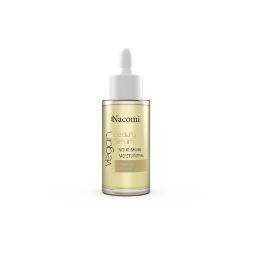 Beauty Serum - Ser nutritiv și hidratant cu uleiuri de flori - Nacomi