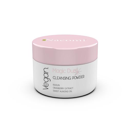 Praf magic - pulbere de curățare și iluminare a feței - Nacomi