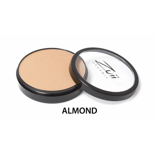 Pudră compactă organică, cu ingrediente florale, Almond