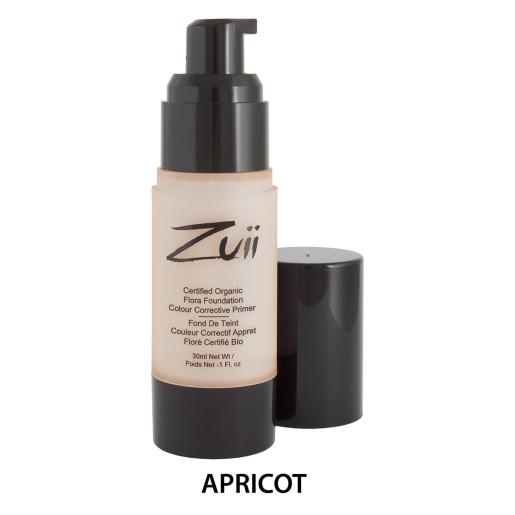 Primer organic corector pentru piele matură, Apricot