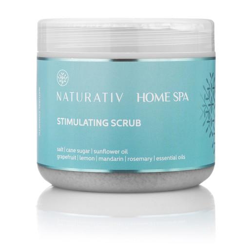 Scrub stimulator pentru corp, Home Spa - Naturativ