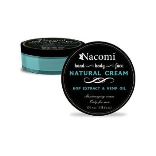 Cremă naturală de mâini, față și corp,  numai pentru bărbați - Nacomi