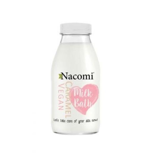 Lapte de baie - cu aromă de caramel - Nacomi