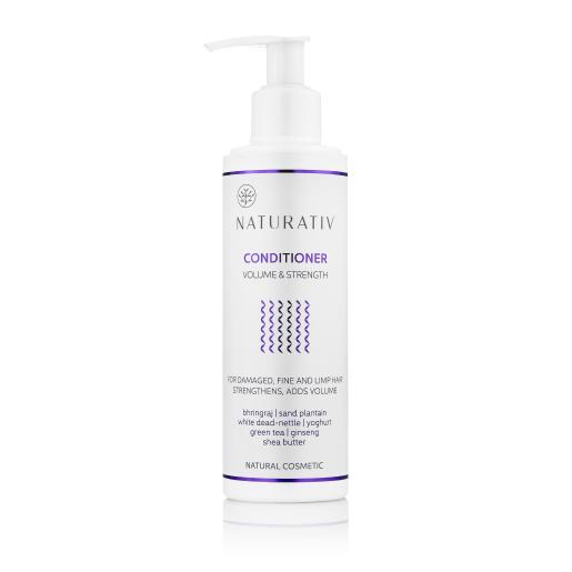 Balsam de păr, pentru volum și strălucire - Naturativ