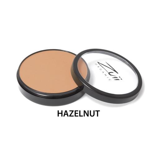 Pudră compactă organică, cu ingrediente florale, Hazelnut