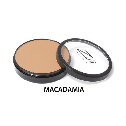 Pudră compactă organică, cu ingrediente florale, Macadamia