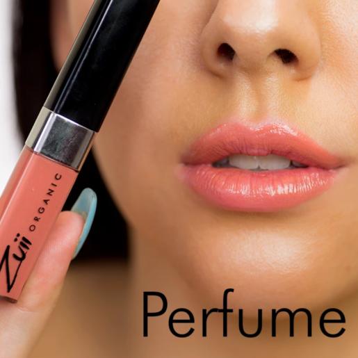 Ruj organic lichid cu ulei de trandafiri, Perfume