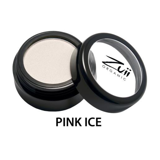 Fard de pleoape organic cu ingrediente florale, Pink Ice
