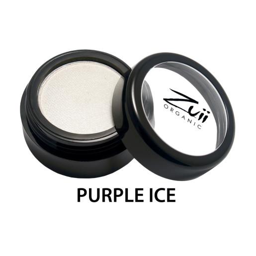 Fard de pleoape organic cu ingrediente florale, Purple Ice