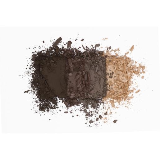 Paletă farduri de pleoape organice cu ingrediente florale, Natural