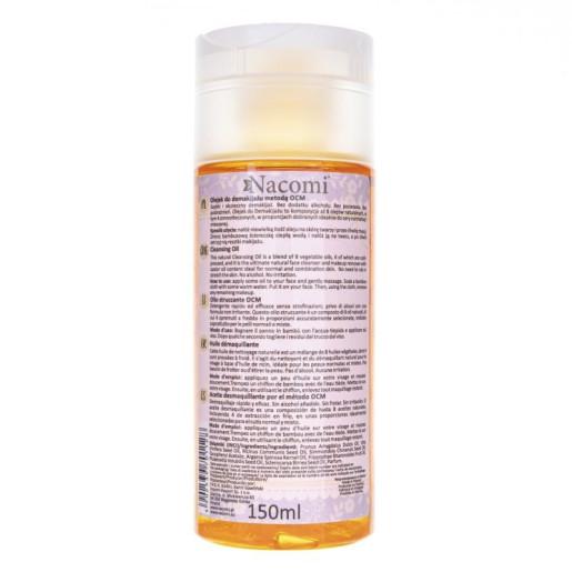Ulei de curățare - îndepărtarea machiajului OCM, pentru piele normală și mixtă - Nacomi