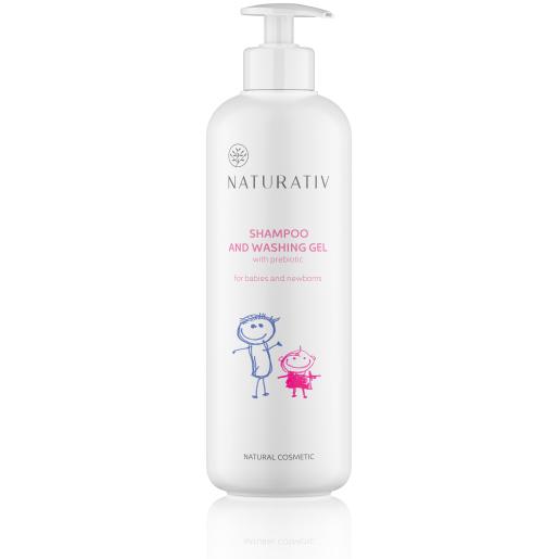 Șampon și gel de duș pentru bebeluși și nou-născuți - Naturativ