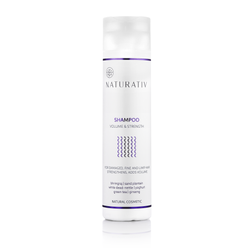Șampon pentru volum și strălucire - Naturativ