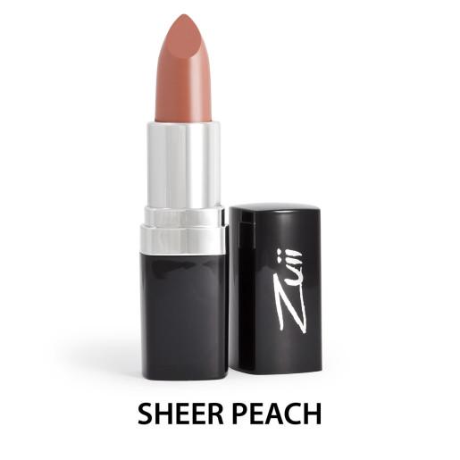 Ruj organic cu ulei de trandafiri, Sheer Peach