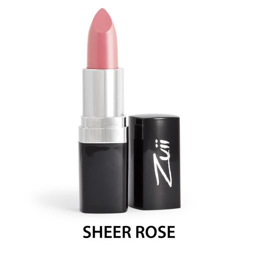 Ruj organic cu ulei de trandafiri, Sheer Rose