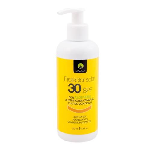 Cremă protecție solară SPF30 Aloe Vera 250 ml