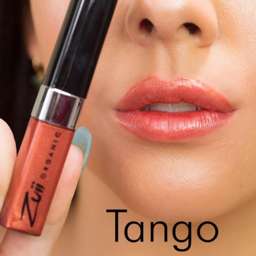 Ruj organic lichid cu ulei de trandafiri, Tango