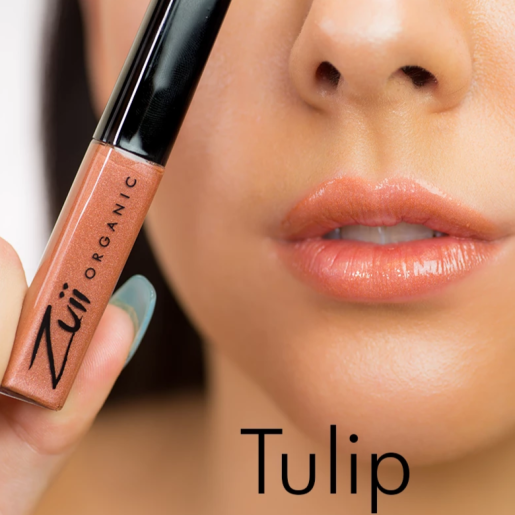 Luciu organic pentru buze cu ulei de trandafiri, Tulip