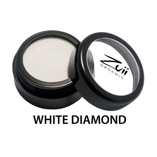 Fard de pleoape organic cu ingrediente florale, White Diamond