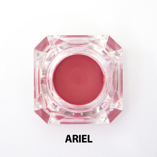 Nuanțator organic pentru obraji și buze cu igrediente florale, Ariel