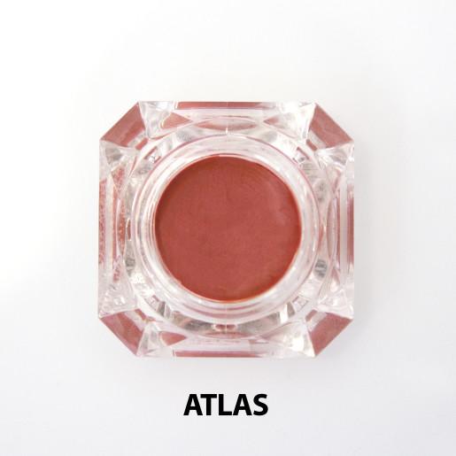 Nuanțator organic pentru obraji și buze cu igrediente florale, Atlas