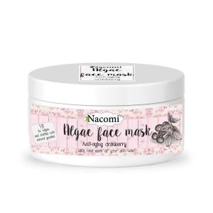 Mască de față din alge - cu merișoare anti-îmbătrânire - Nacomi