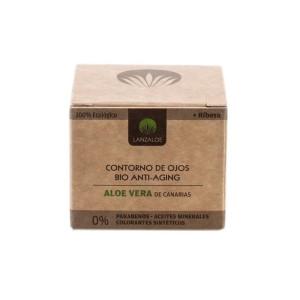 Cremă contur ochi bio-anti-îmbătrânire 100% Ecologică, Aloe Vera - Lanzaloe