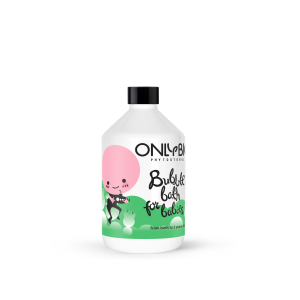 Spumă de baie pentru copii 0 - 3 ani - Only Bio
