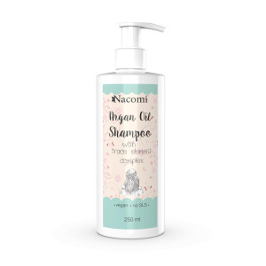 Șampon cu ulei de argan și complex de oligoelemente - Nacomi