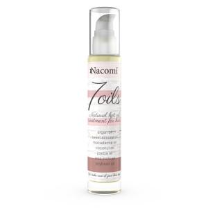 7 Ulei tratament natural pentru păr - cu 7 uleiuri esențiale - Nacomi
