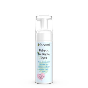 Spumă demachiantă din plante pentru față - Nacomi