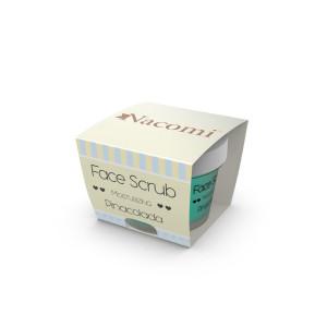 Scrub hidratant pentru față și buze - Pina Colada - Nacomi