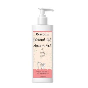 Gel de duș cu ulei de migdale - Nacomi