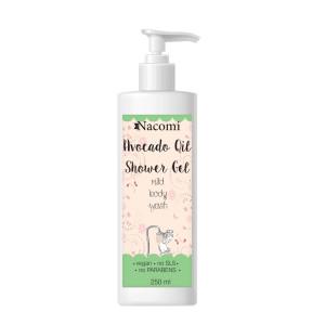 Gel de duș cu ulei de avocado - Nacomi