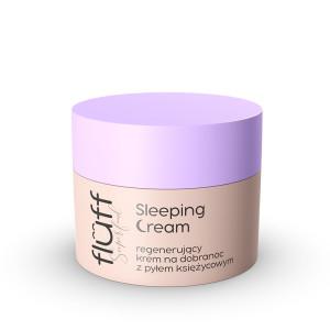Sleeping Cream, Cremă de seară pentru față, Fluff - Nacomi