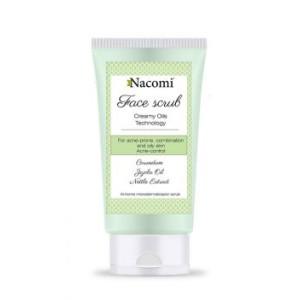 Scrub de față pentru controlul acneei - Nacomi