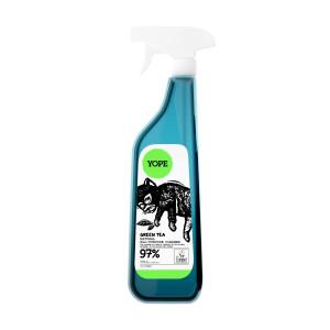Soluție naturală de curățat, universală, cu ceai verde - YOPE