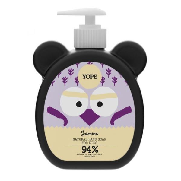 Săpun natural de mâini, pentru copii, cu iasomie - YOPE
