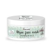 Mască de față din alge - ulei de arbore de ceai care combate acneea - Nacomi