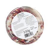 Set exclusiv de bomboane efervescente pentru baie cu petale de trandafir- mosc oriental (4 bucăți) - Nacomi