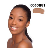 Lux Flawless Fond de ten organic, Coconut