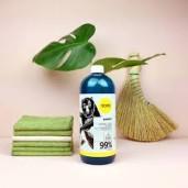 Soluție naturală de curățat, pentru pardoseli, cu bambus - YOPE