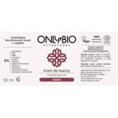 Cremă hipoalergenică de zi pentru față (piele atopică, alergică, sensibilă) - Only Bio