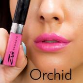 Ruj organic lichid cu ulei de trandafiri, Orchid